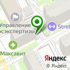 Местоположение компании Творческая мастерская архитекторов Пестова и Попова