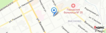 КОМПЬЮТЕРНАЯ ПОМОЩЬ на карте Нижнего Новгорода