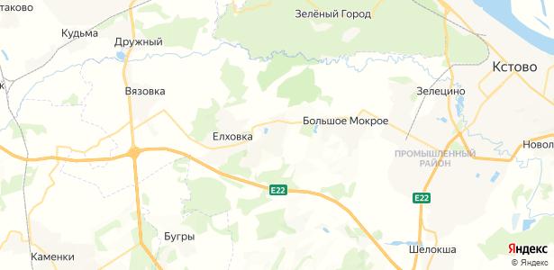 Чаглава на карте