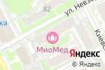 Схема проезда до компании Деви плюс в Нижнем Новгороде