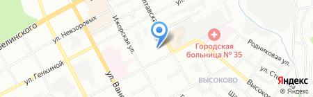 Spa-Лорэн на карте Нижнего Новгорода