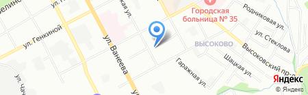 Тонус Дентал на карте Нижнего Новгорода