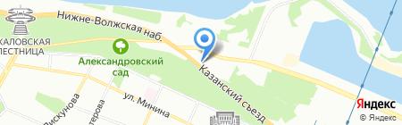 Европейские ткани на карте Нижнего Новгорода