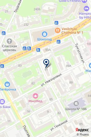 ТФ ВОЗНЕСЕНСКИЙ Е. В. на карте Нижнего Новгорода
