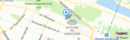 Профи-софт на карте Нижнего Новгорода