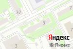 Схема проезда до компании ТОС в Нижнем Новгороде