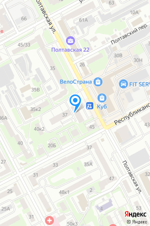 Дом 39 по ул. Полтавская на Яндекс.Картах