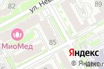 Схема проезда до компании АВТОСУШИ в Нижнем Новгороде