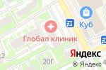 Схема проезда до компании Global Clinic в Нижнем Новгороде