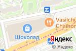 Схема проезда до компании ИЖС в Нижнем Новгороде