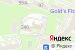 Схема проезда до компании Сфера в Нижнем Новгороде