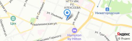 Городская Навигация на карте Нижнего Новгорода