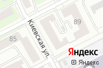 Схема проезда до компании Мининские окна в Нижнем Новгороде
