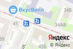 Схема проезда до компании Лига ставок в Нижнем Новгороде