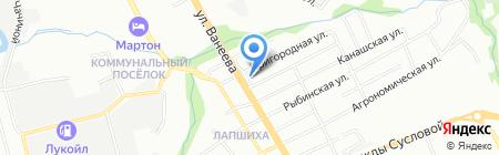 Хороший аппетит на карте Нижнего Новгорода