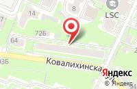 Схема проезда до компании Токмастер в Нижнем Новгороде