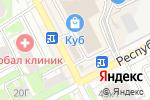 Схема проезда до компании PortMone в Нижнем Новгороде