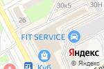 Схема проезда до компании Angloland в Нижнем Новгороде