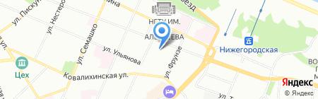 ДАР на карте Нижнего Новгорода