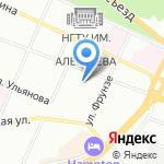 Слетать.ру на карте Нижнего Новгорода