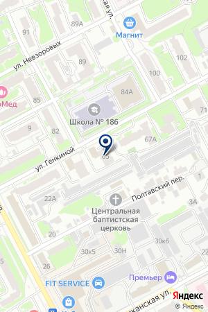 ТФ ФОБОС на карте Нижнего Новгорода