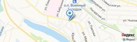 Киоск по продаже хлебобулочных изделий на карте Бора