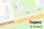 Схема проезда до компании Реант в Нижнем Новгороде