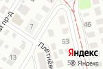 Схема проезда до компании Все для авто Нижний Новгород в Нижнем Новгороде