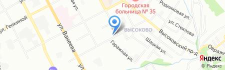 Woodies Group LLS на карте Нижнего Новгорода