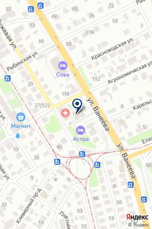 ТФ ВИСТ-НН на карте Нижнего Новгорода