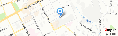 Портал на карте Нижнего Новгорода