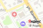 Схема проезда до компании Диэнайлаб в Нижнем Новгороде