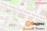 Схема проезда до компании Европлан в Нижнем Новгороде