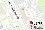 Схема проезда до компании ЭТАЖИ-НН в Нижнем Новгороде
