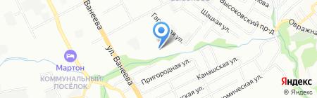 Club Travel на карте Нижнего Новгорода