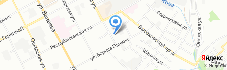 Диал на карте Нижнего Новгорода