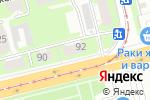 Схема проезда до компании МирФин в Нижнем Новгороде