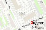 Схема проезда до компании Авалон-Сервис в Нижнем Новгороде