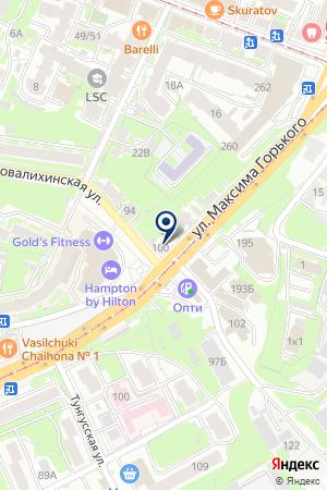 СПЕЦОДЕЖДА ПЛЮС на карте Нижнего Новгорода
