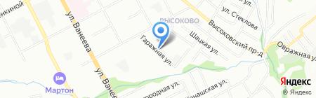 ИВС на карте Нижнего Новгорода