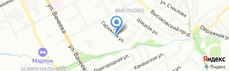 Грузовое Такси НН на карте Нижнего Новгорода