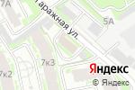 Схема проезда до компании АКА Инвест в Нижнем Новгороде