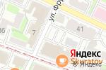 Схема проезда до компании Веб Эра в Нижнем Новгороде