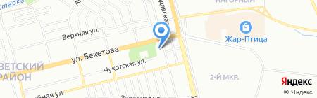 Много Мебели на карте Нижнего Новгорода