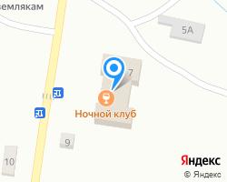 Схема местоположения почтового отделения 431314