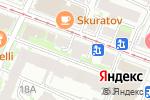 Схема проезда до компании Малахит Плюс в Нижнем Новгороде
