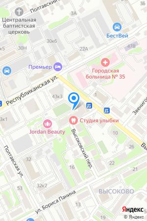 Дом 43 корп.6 по ул. Республиканская, ЖК Высоково на Яндекс.Картах