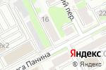 Схема проезда до компании Адвокатский кабинет Новикова Р.В. в Нижнем Новгороде