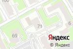 Схема проезда до компании Общежитие в Нижнем Новгороде