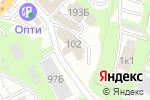Схема проезда до компании Автомойка на Ковалихинской в Нижнем Новгороде